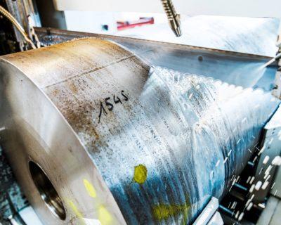 Sawing of engineering steel
